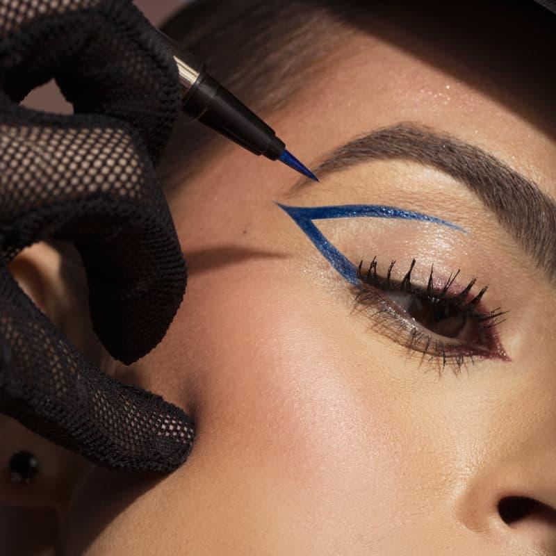 Caneta Delineadora Eyeliner Real Blue - Azul - Mariana Saad - Oceane