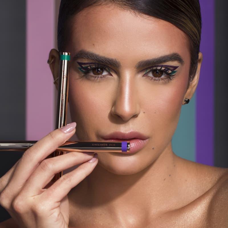 Caneta Delineadora Eyeliner Real Violet  - Violeta - Mariana Saad - Oceane