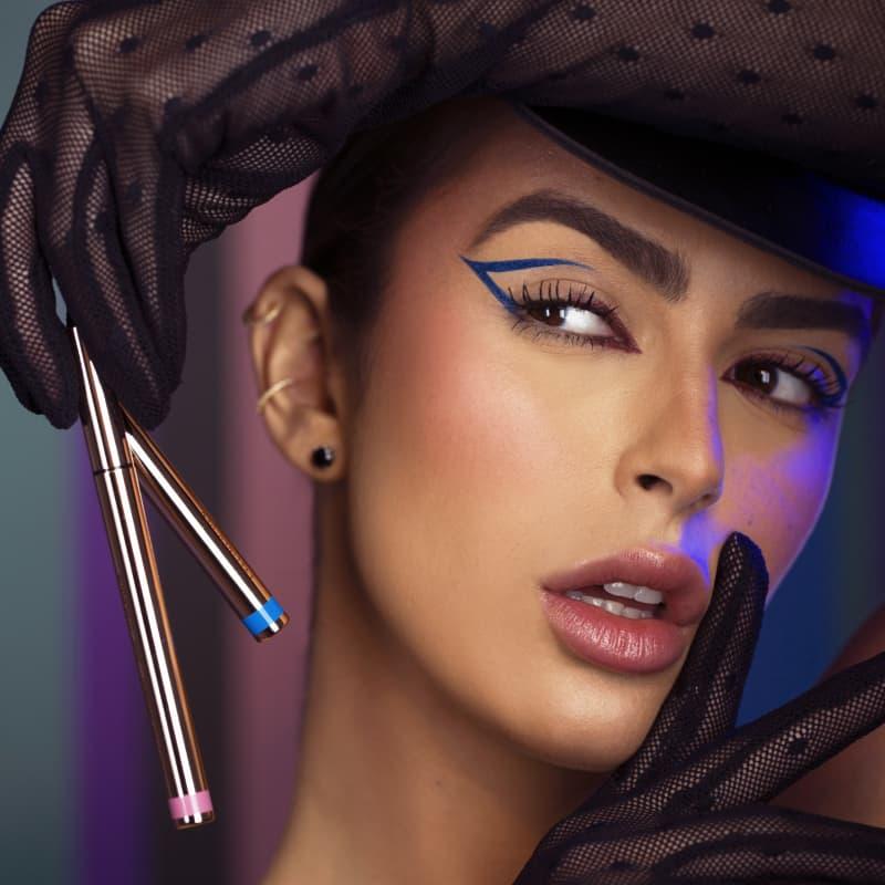Caneta Delineadora Eyeliner Rose Gold - Rose - Mariana Saad - Oceane
