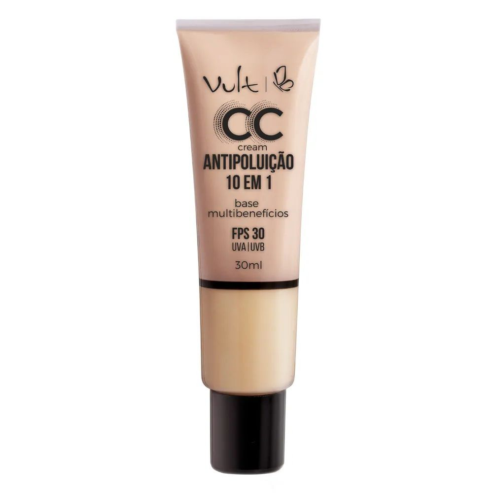 CC Cream Base Antipoluição cor: MB01 - 30ml - Vult