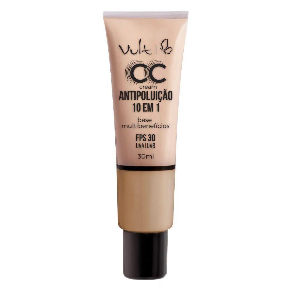 CC Cream Base Antipoluição cor: MB03 - 30ml - Vult
