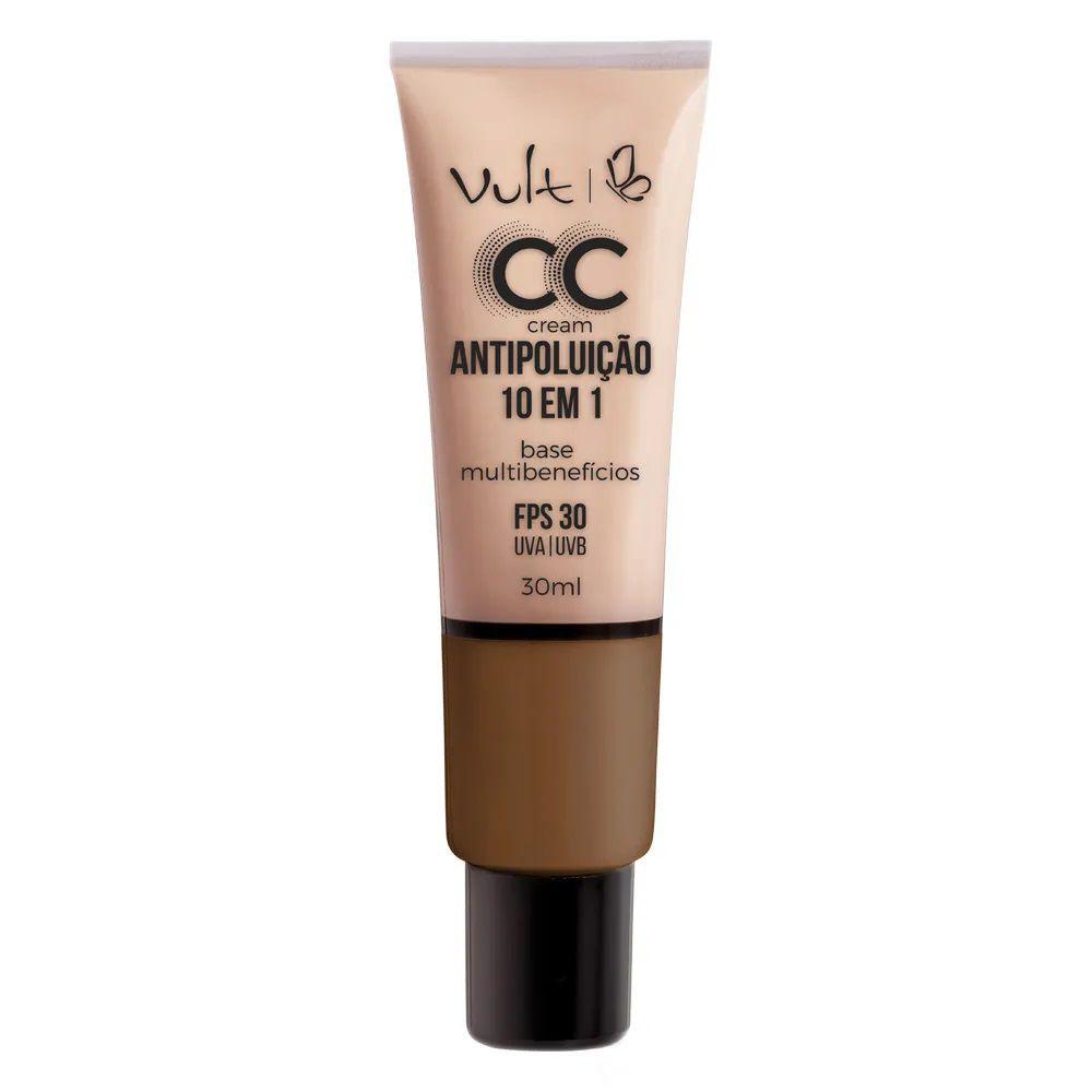 CC Cream Base Antipoluição cor: MB06 - 30ml - Vult