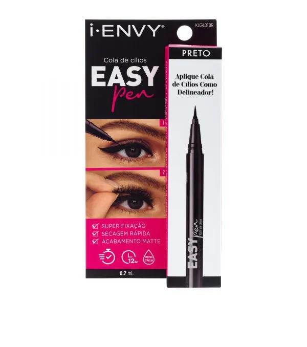 Cola Delineadora Easy Pen Preto - I-ENVY Kiss NY