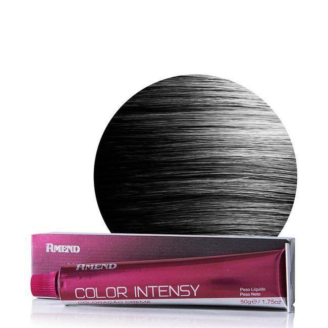 Coloração Color Intensy 1.0 Preto Color  50g - Amend