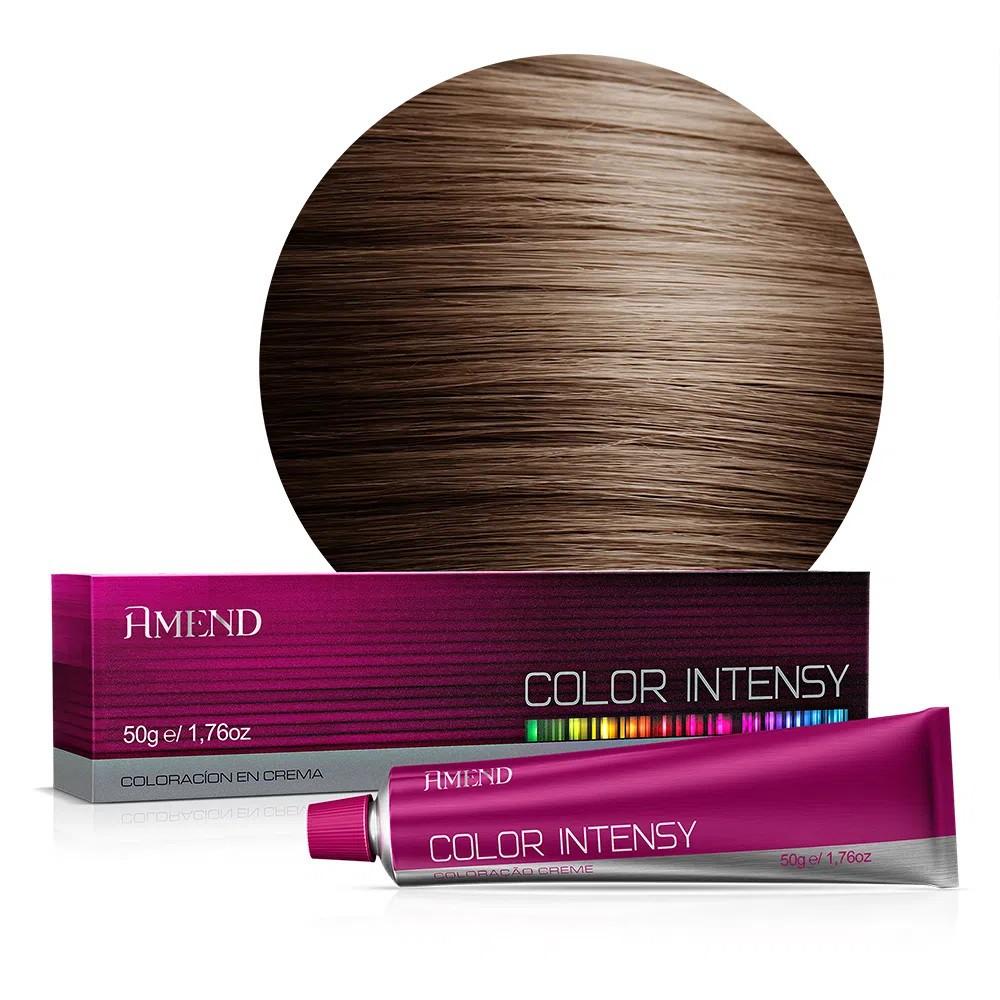 Coloração Color Intensy 6.71 Louro Escuro Marrom Acizentado 50g - Amend