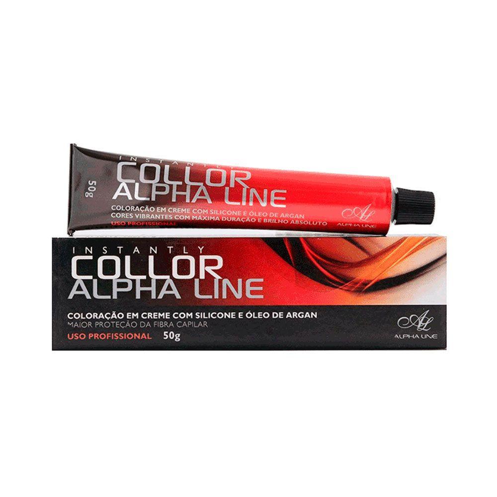 Coloração Instantly Collor Castanho Claro Cinza 5.1 50g - Alpha Line