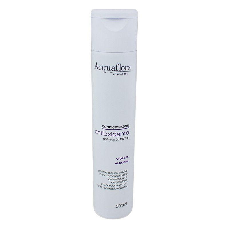 Condicionador Antioxidante Desamarelador para Cabelos Normais e Mistos 300ml -Acquaflora
