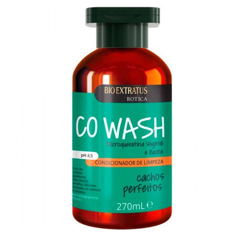 Condicionador de Limpeza Cachos Perfeitos Botica (No Poo Low Poo) Co Wash - 270ml - Bio Extratus