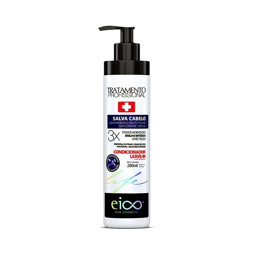 Condicionador Leave-In Salva Cabelo 280ml-Eico
