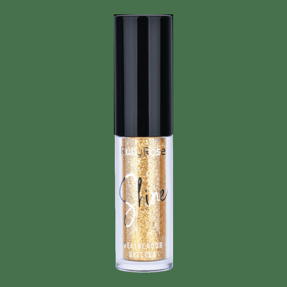 Delineador Glitter Shine 4  - Ruby Rose