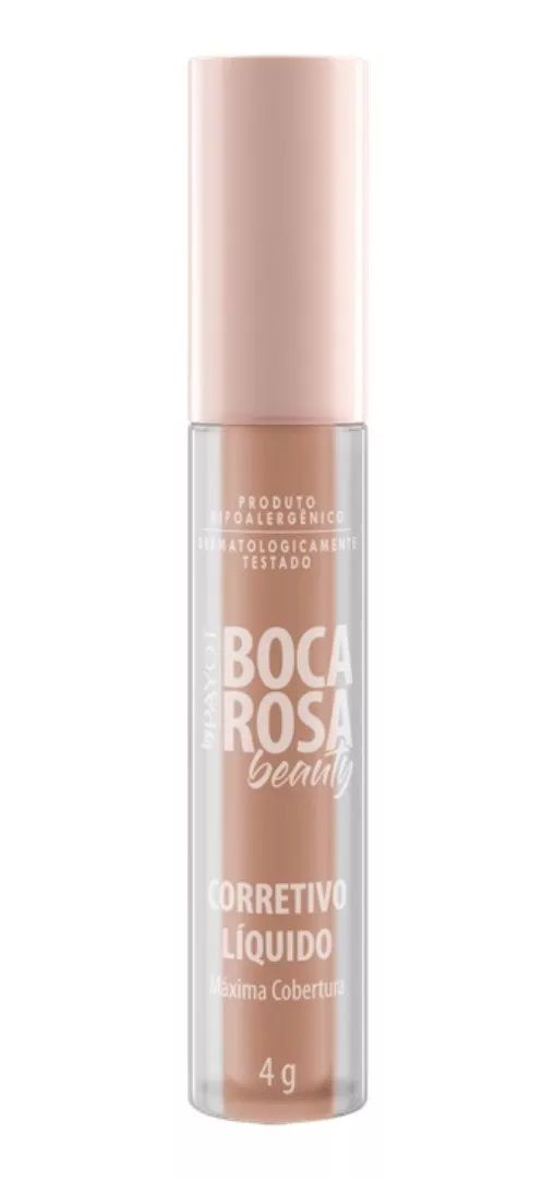 Corretivo Liquido HD  cor: 3 Orquidea - 4g - Boca Rosa Beauty