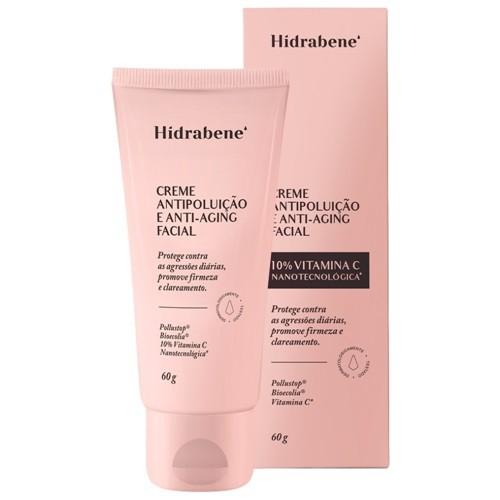 Creme Facial Antipoluição e Anti-Aging 10%Vitamina C - 60g - Hidrabene