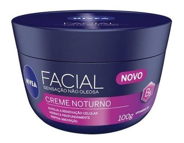 Creme Facial Cuidado Noturno Sensação Não Oleosa 100g Nivea