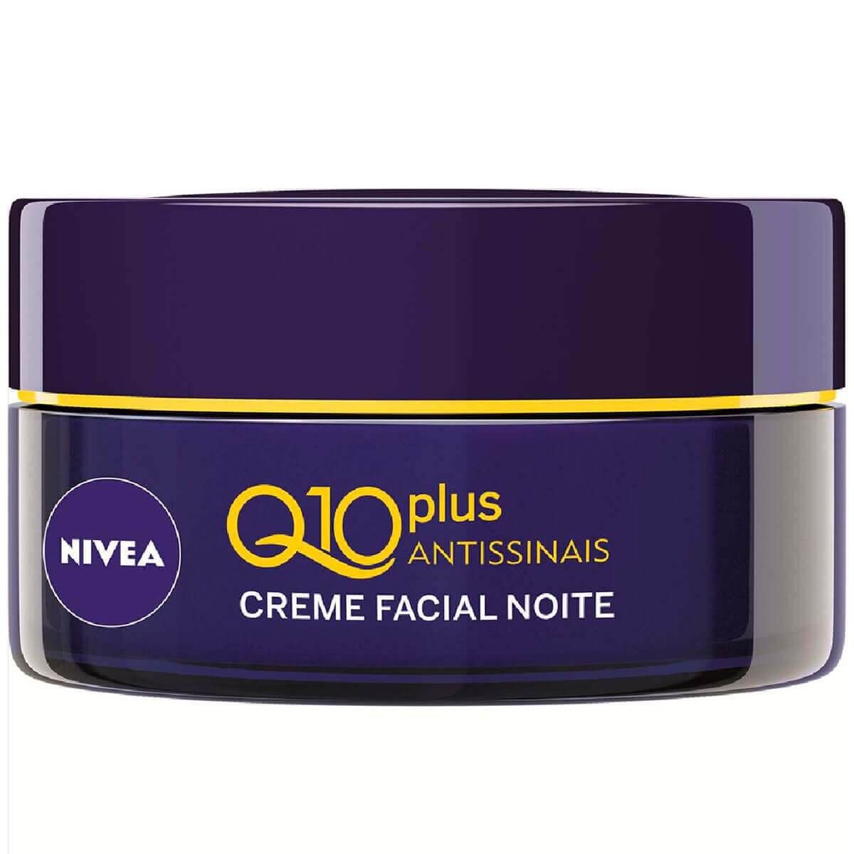 Creme Facial Q10 Antissinais Noite Fps 30 - 53g-Nivea