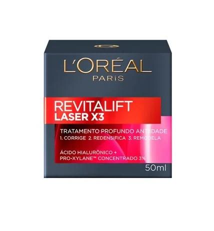 Creme Rejuvenescedor Facial Revitalift Laser X3 - 50ml- L´Oréal Paris