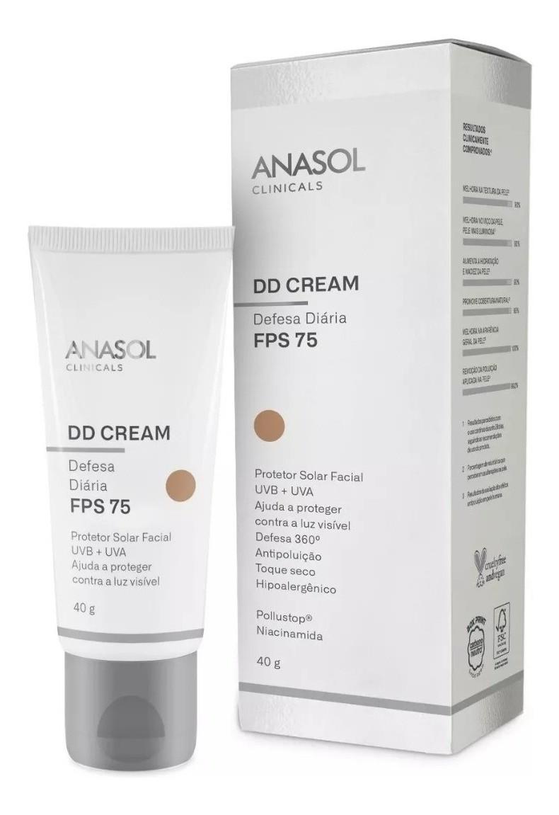 DD Cream FPS 75 Defesa Diária com cor Clinicals - 40g - Anasol