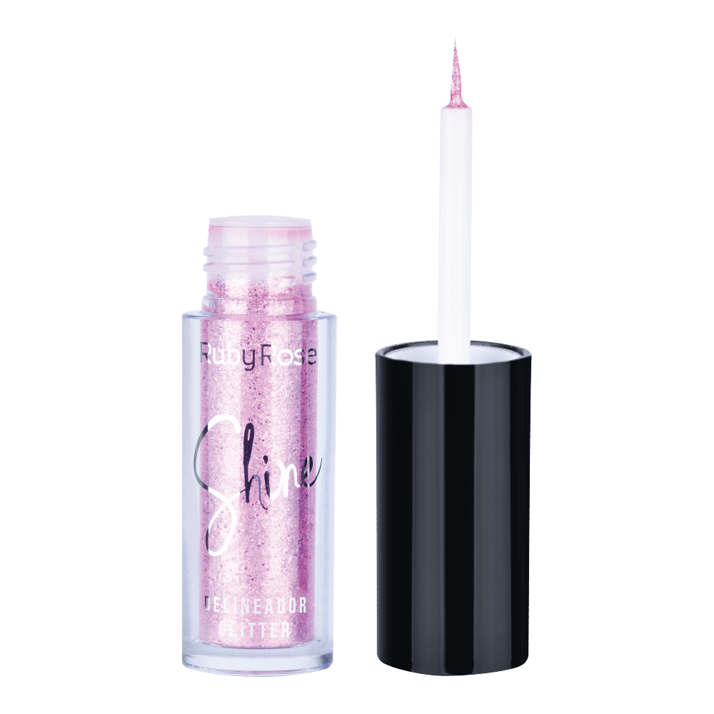 Delineador Glitter Shine 5 - Ruby Rose