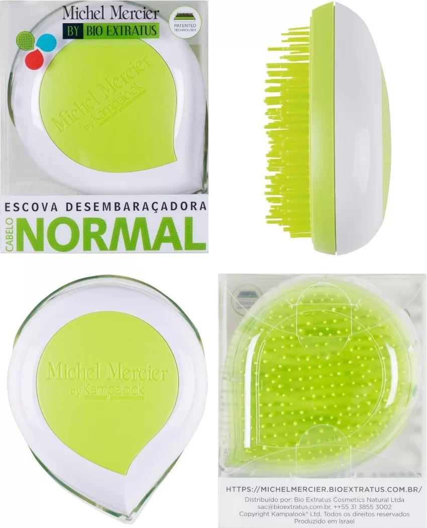 Escova Michel Mercier Cabelo Normal Pack and Go - Bio Extratus