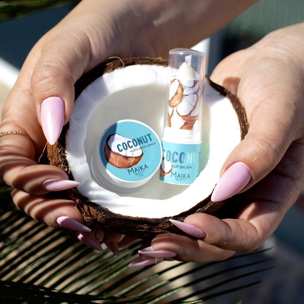 Esfoliante Labial Coconunt + Lip Balm Coconunt - Maika