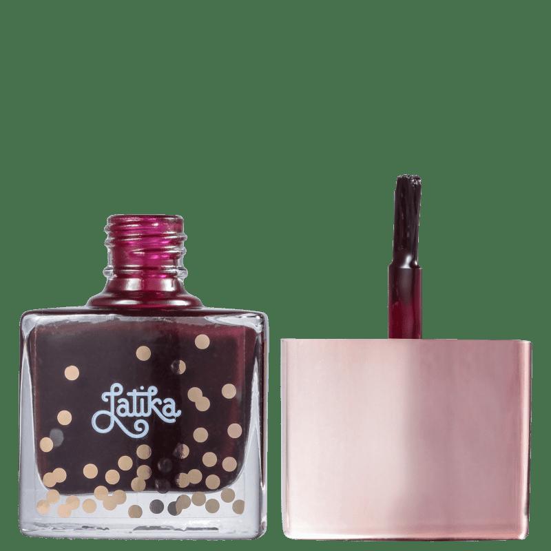 Esmalte Coleção Confetti Cor Grape - 9ml - Latika