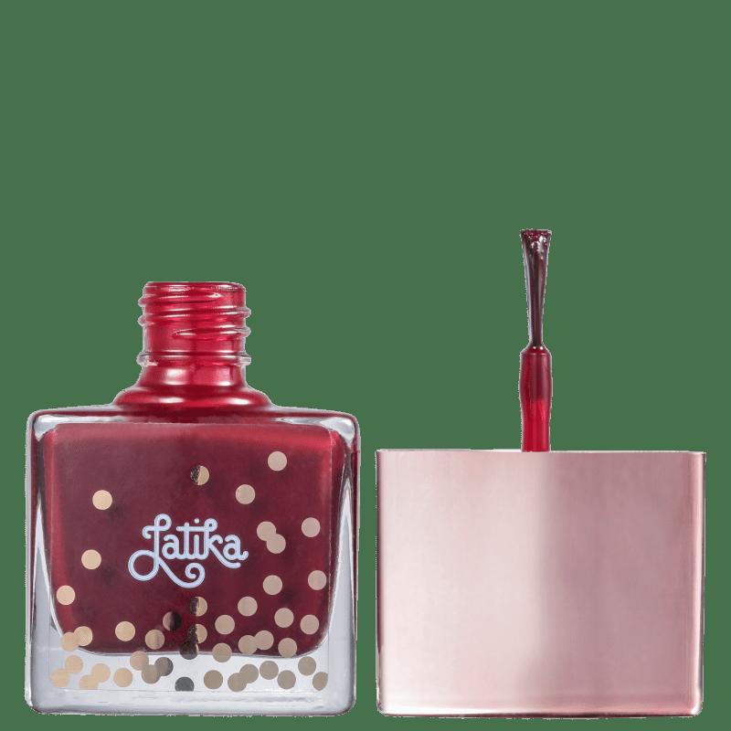Esmalte Coleção Confetti Cor Wine - 9ml - Latika
