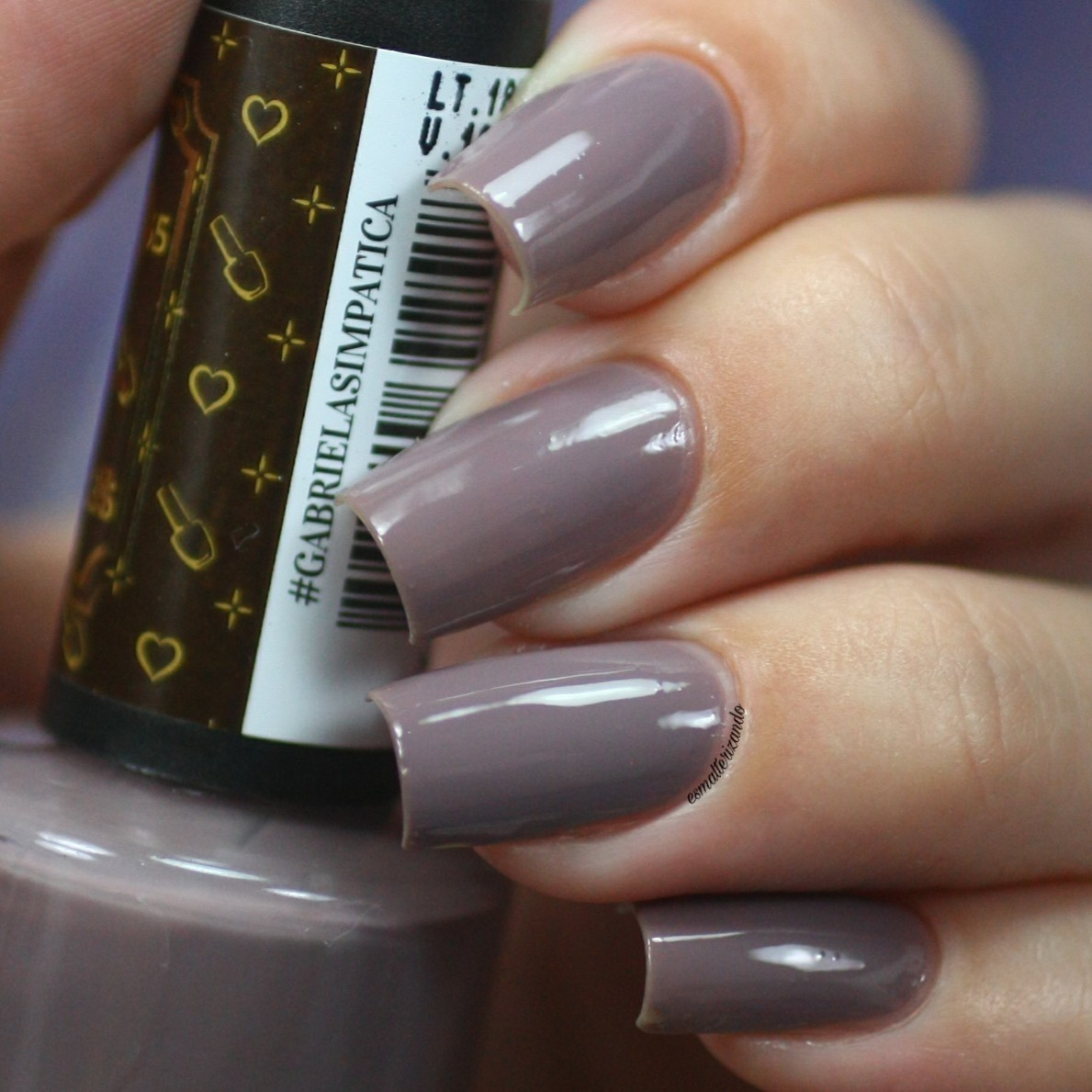 Esmalte Coleção I Love Minha Manicure Gabriela Simpatica 9ml-Studio 35