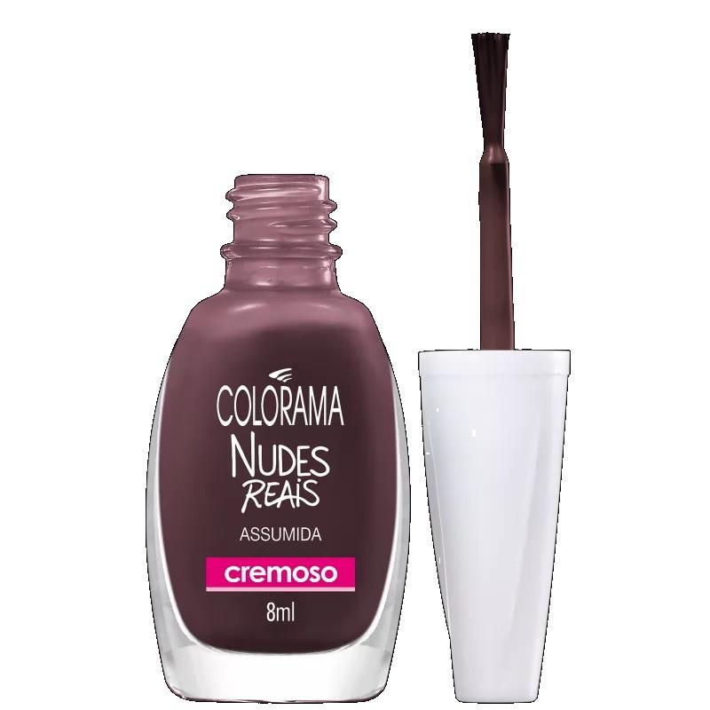 Esmalte Coleção Nudes Reais Assumida 8ml - Colorama