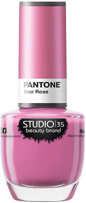Esmalte Coleção Pantone 2 Cor Dear Rose 9ml-Studio 35