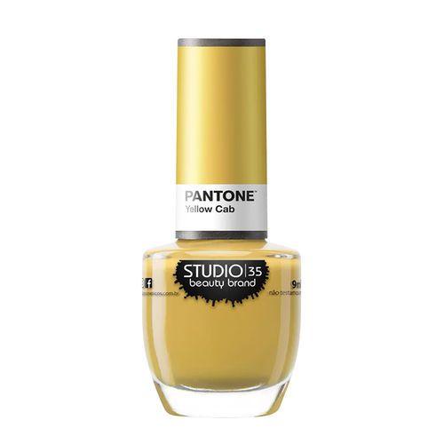 Esmalte Coleção Pantone 2 Cor Yellow Cab - 9ml-Studio 35
