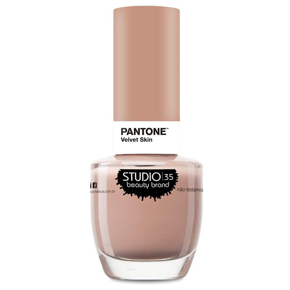Esmalte Coleção Pantone Cor Velvet Skin 9ml-Studio 35