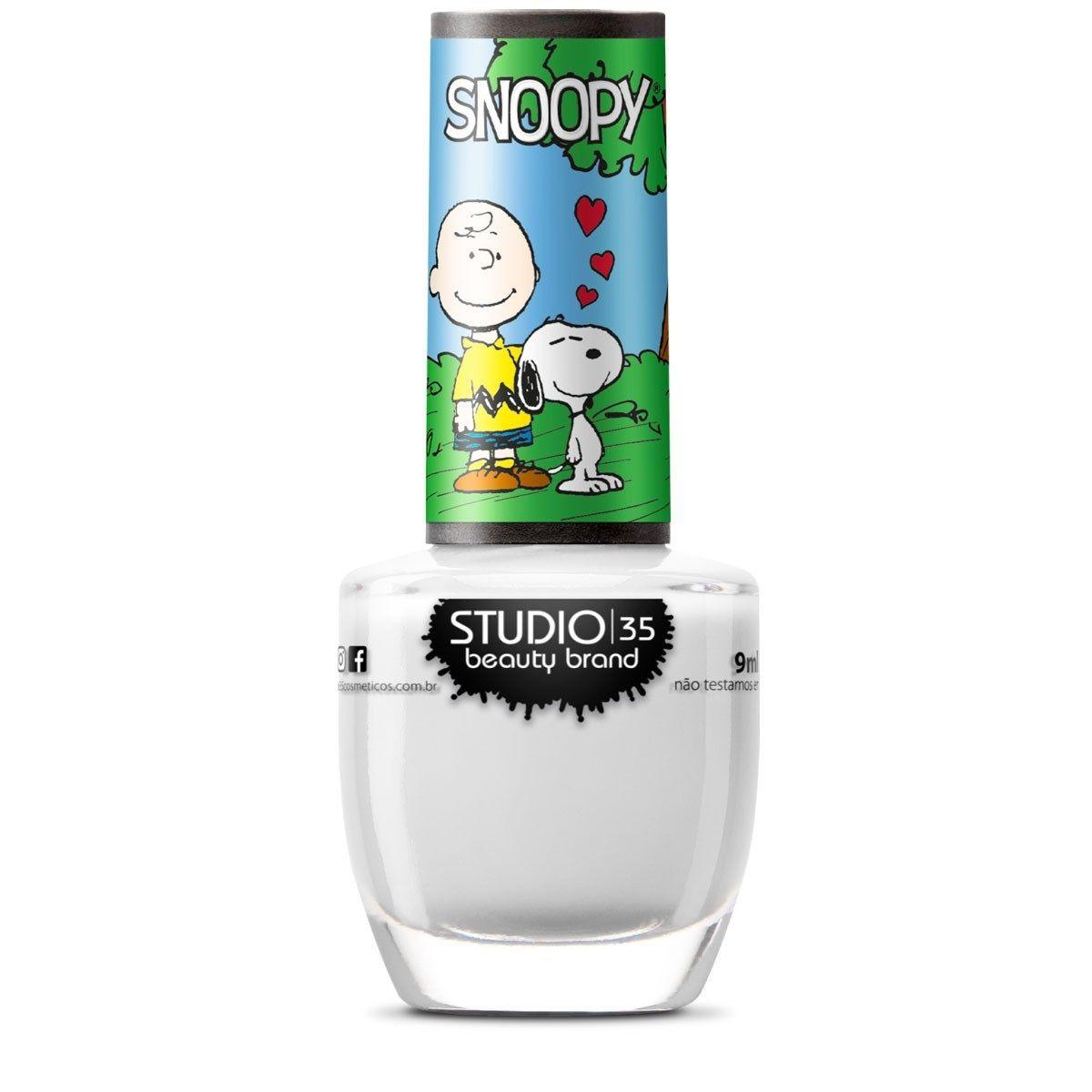 Esmalte Coleção Snoopy Cor #amocharliebrown -  9ml-Studio 35