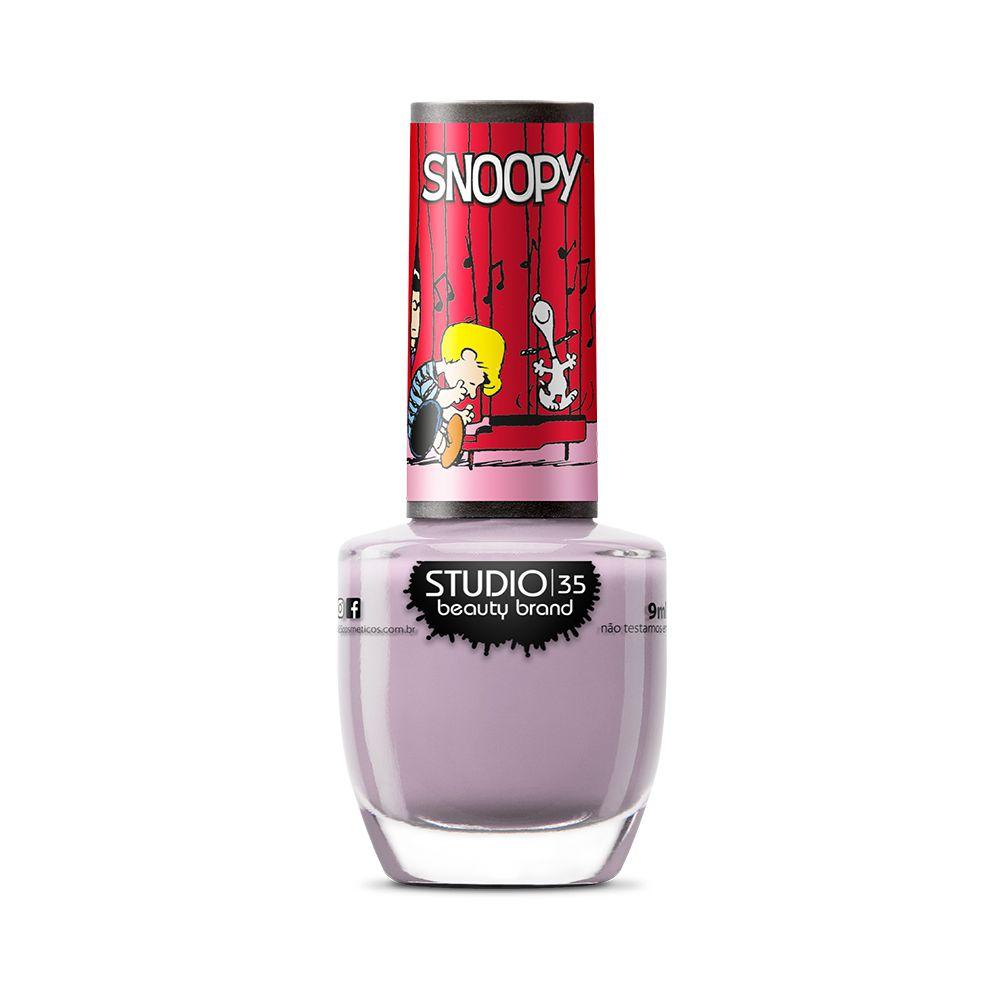 Esmalte Coleção Snoopy Cor #lovewoodstock -  9ml-Studio 35