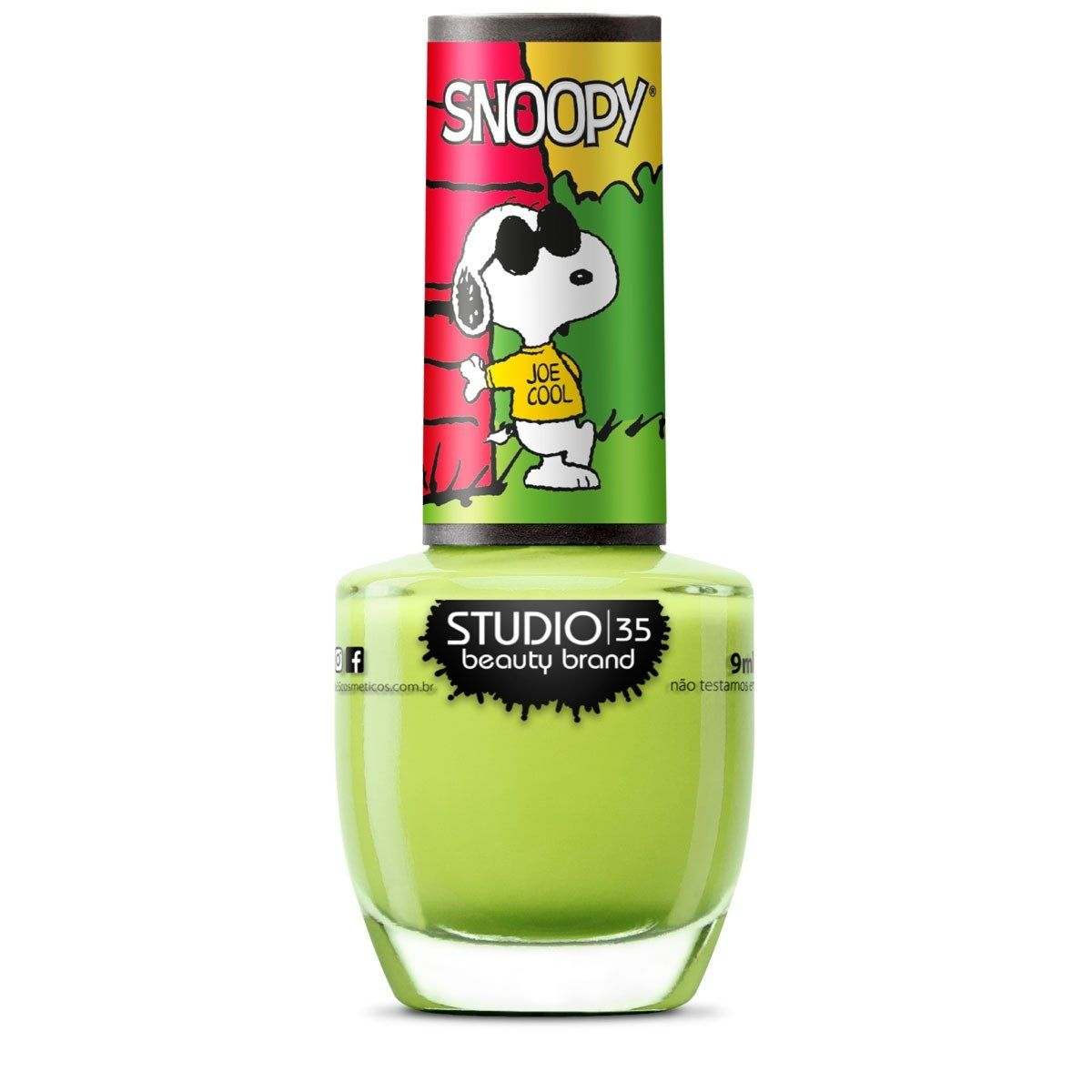Esmalte Coleção Snoopy Cor #relax,joecool -  9ml-Studio 35