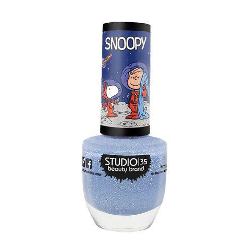 Esmalte Coleção Snoopy Cor #snoopynomundodalua - 9ml-Studio 35