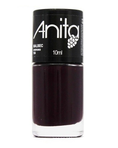 Esmalte Coleção Uvas Cremoso Malbec 10ml - Anita