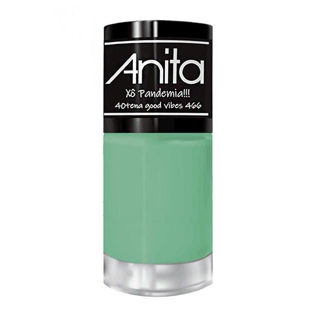 Esmalte Coleção Xô Pandemia Cor 40tena Good Vibes 466 - 10ml - Anita