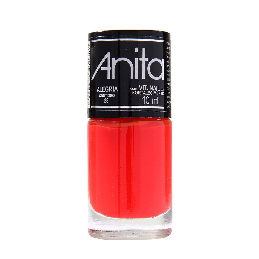 Esmalte Cremoso Alegria 10ml - Anita
