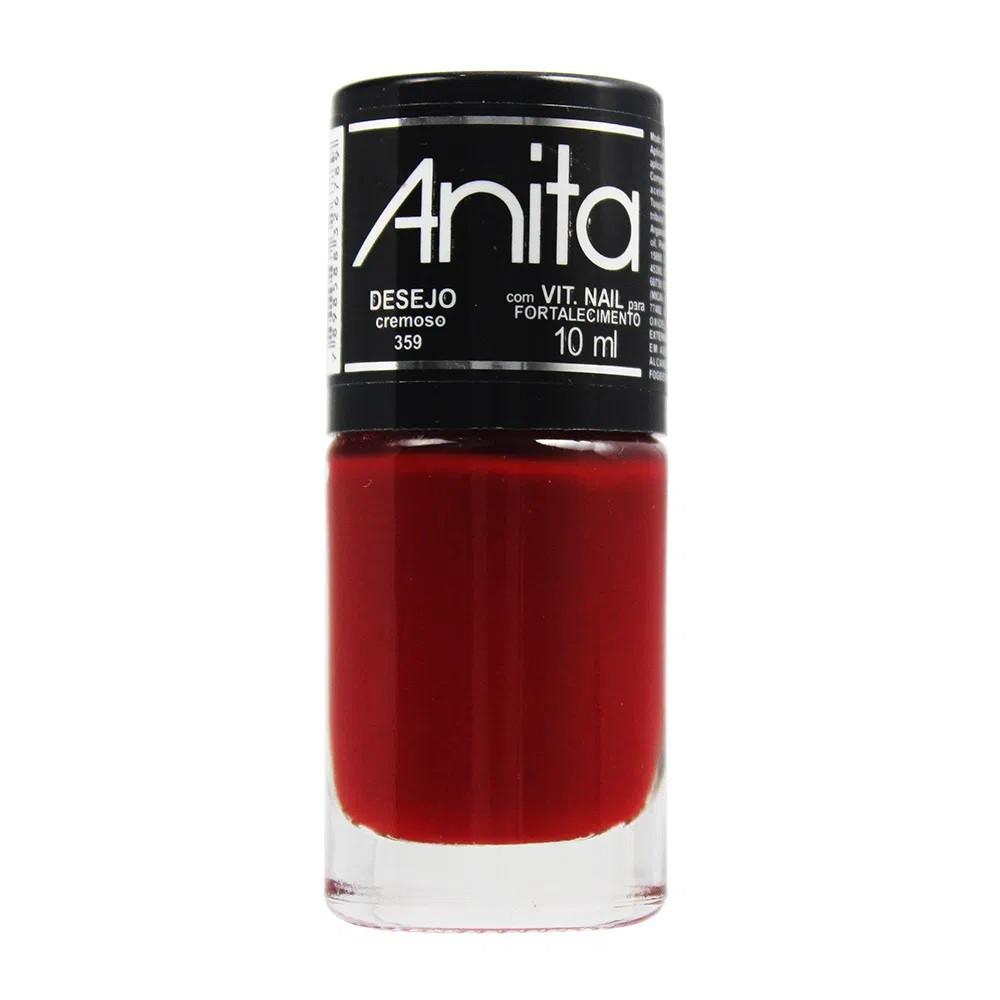 Esmalte Cremoso Desejo 10ml - Anita