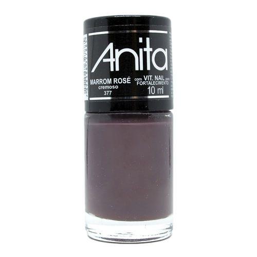 Esmalte Cremoso Marrom Rosé 10ml - Anita