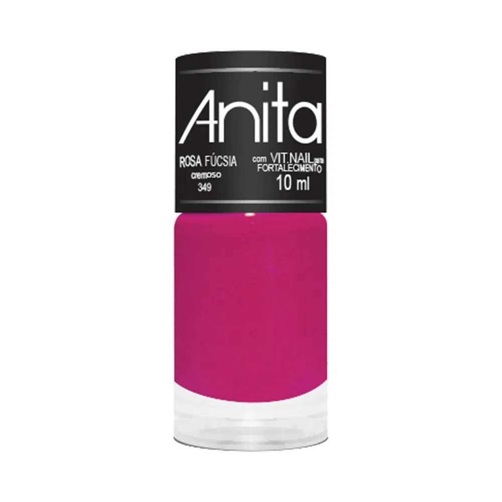 Esmalte Cremoso Rosa Fúcsia 10ml - Anita