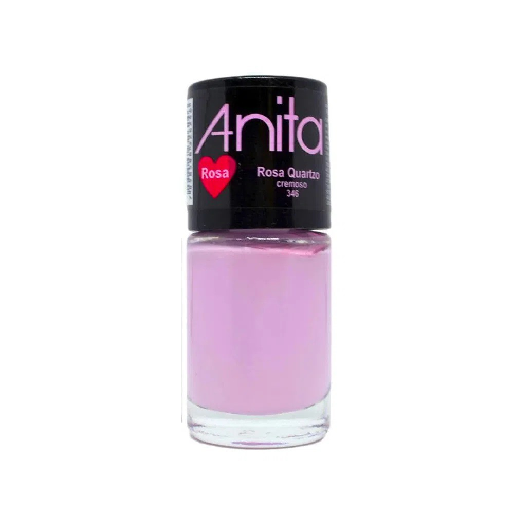 Esmalte Cremoso Rosa Quartzo 10ml - Anita