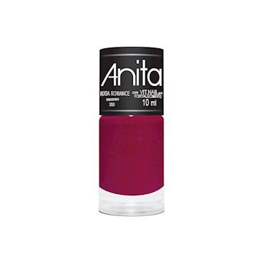 Esmalte Cremoso Rosa Romance 10ml - Anita