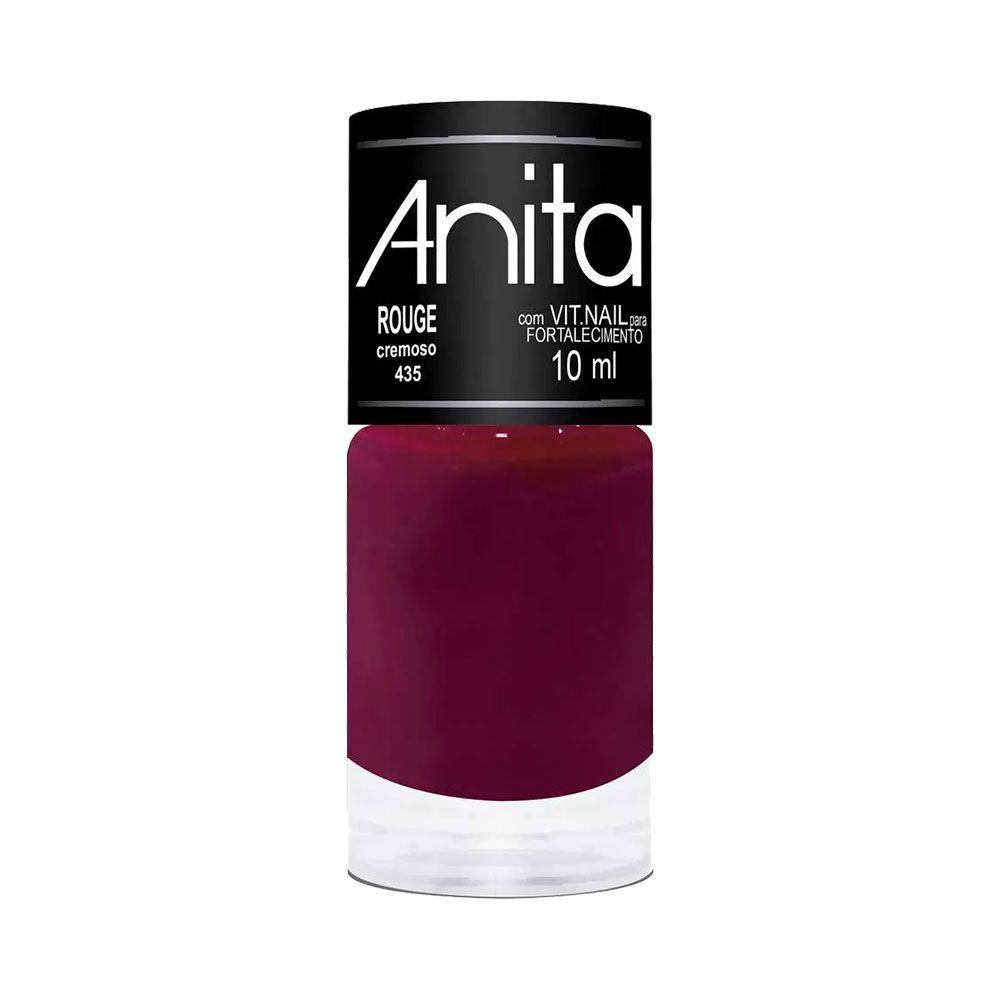 Esmalte Cremoso  Rouge - 10ml - Anita