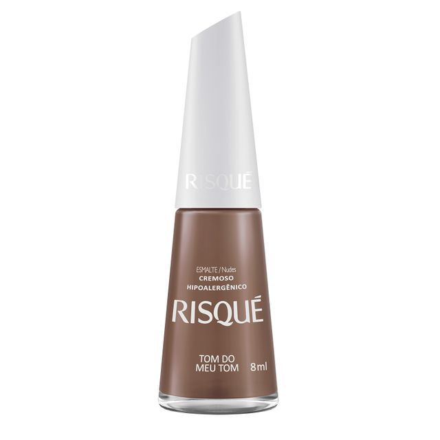 Esmalte Cremoso Tom do Meu Tom - 8ml - Risque
