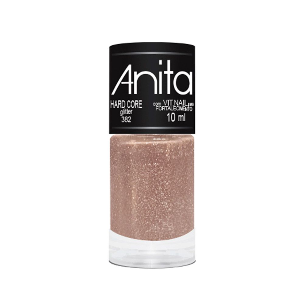 Esmalte Glitter Hard Core10ml - Anita