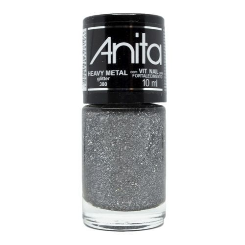 Esmalte Glitter Heavy Metal10ml - Anita