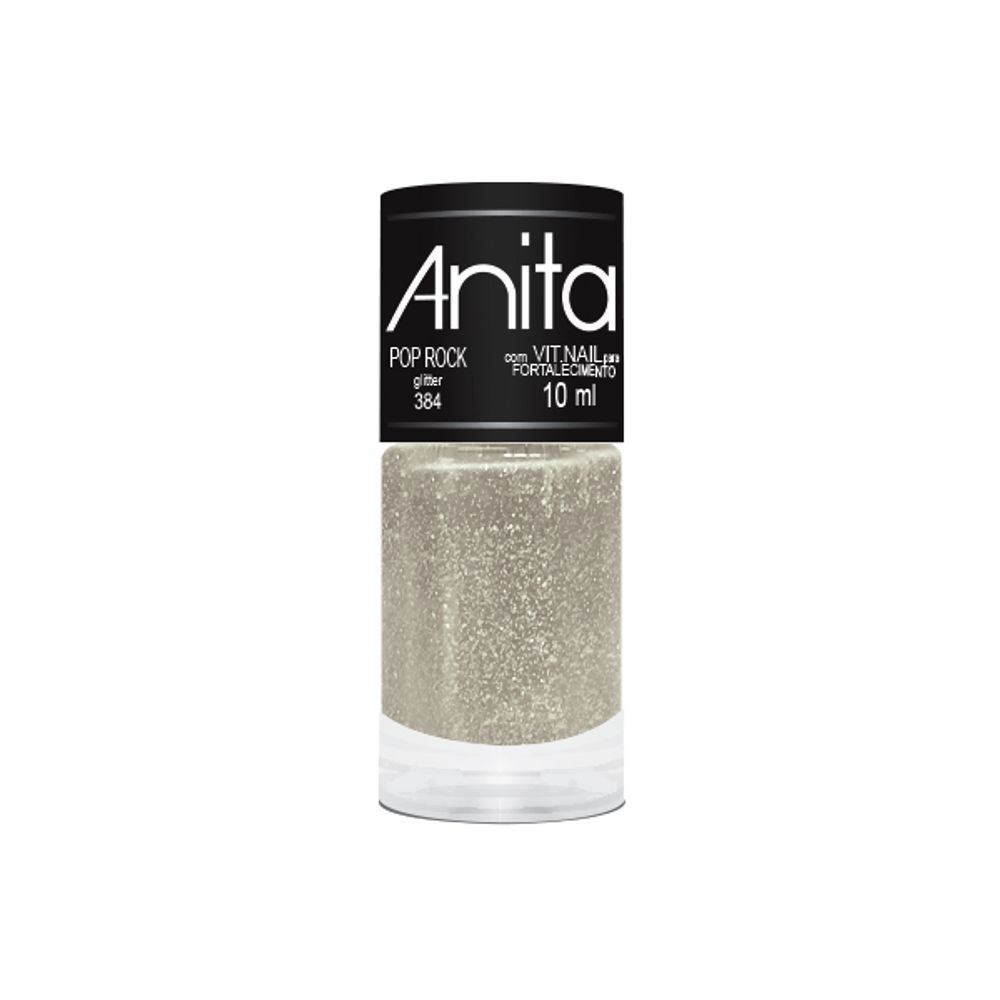 Esmalte Glitter Pop Rock 10ml - Anita