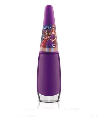 Esmalte Identidade Secreta cor:Raio Púrpura  8ml  - Impala