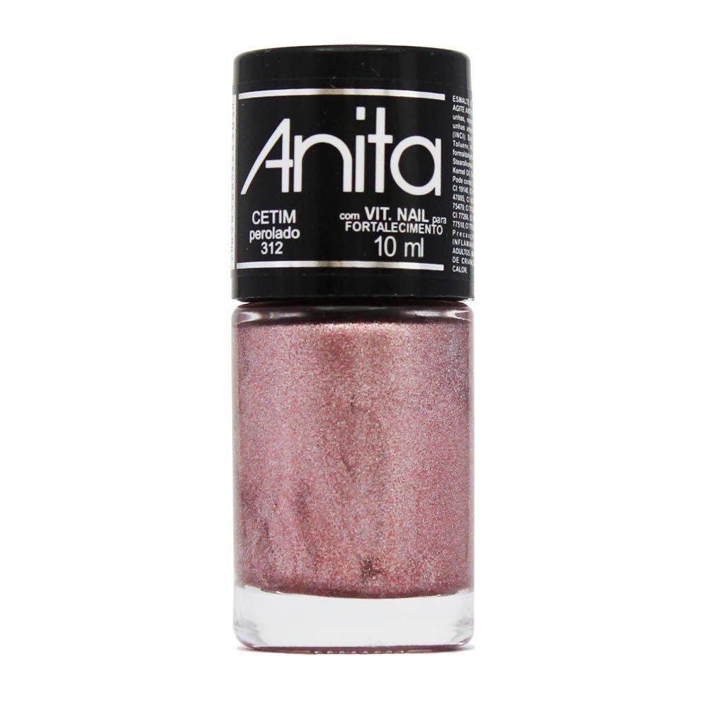 Esmalte Perolado Cetim 10ml - Anita