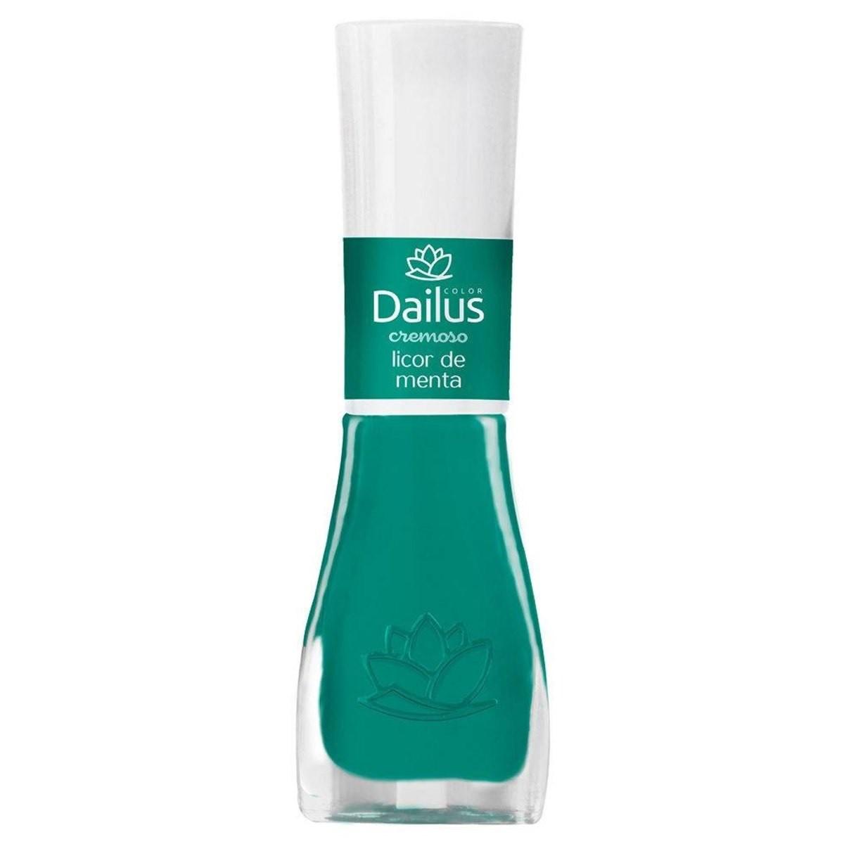 Esmaltes Cremoso Licor de Menta 8ml - Dailus
